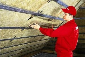 Качественное утепление крыши гаража и пароизоляция
