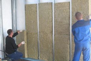 Как утеплить стены стекловатой