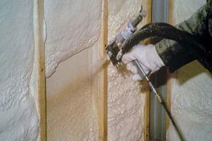 Утепление стен жидким пенопластом