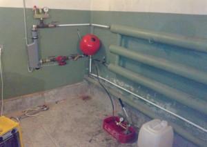 Автономное отопление для гаража